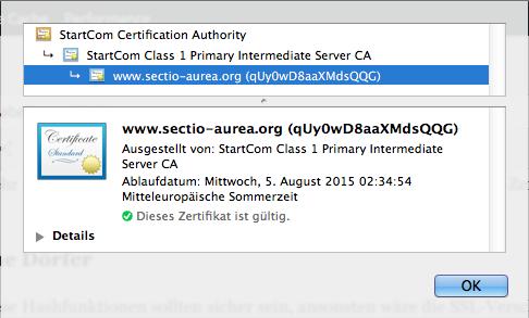 SSL: Warum kriege ich kein grünes Schloss bei Google Chrome ...